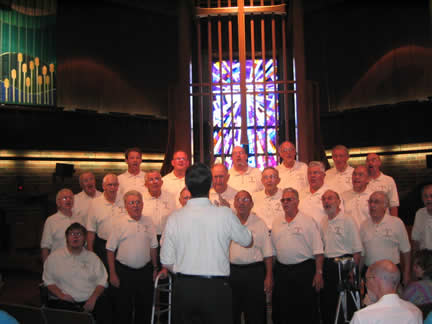 Mankato church sing out August 2006